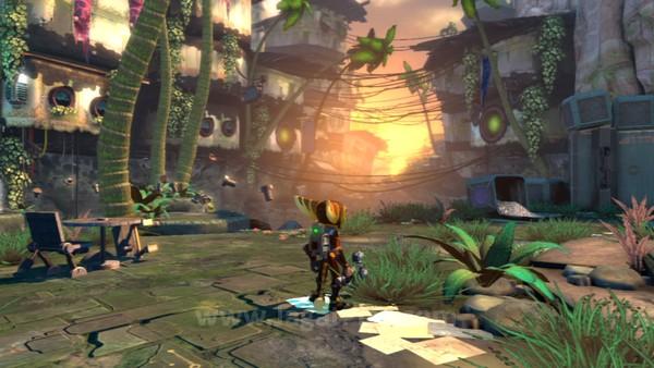 Tidak seperti game action platformer yang mungkin memaksa Anda untuk bergerak di koridor sempit, Ratchet and Clank: Into the Nexus menawarkan dunia luas dengan setting yang pantas diacungi jempol.
