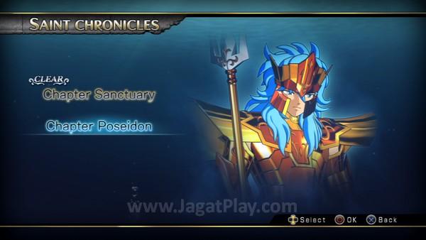 Tiga skenario utama menjadi roda penggerak mode cerita: Sanctuary, Poseidon, dan tentu saja - Hades.