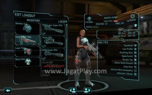 Senjata dari pihak EXALT yang berhasil dibawa pulang setelah perang bisa juga digunakan oleh tentara XCOM.