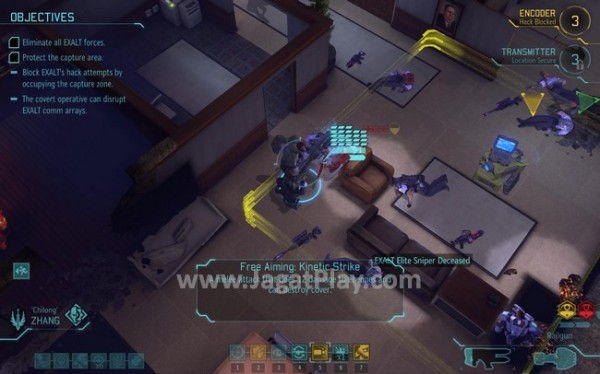 Melindungi area tertentu yang berpotensi merusak misi rahasia kini juga harus dilakukan oleh pasukan XCOM.