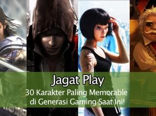 30 Karakter Paling Memorable di Generasi Gaming Saat Ini