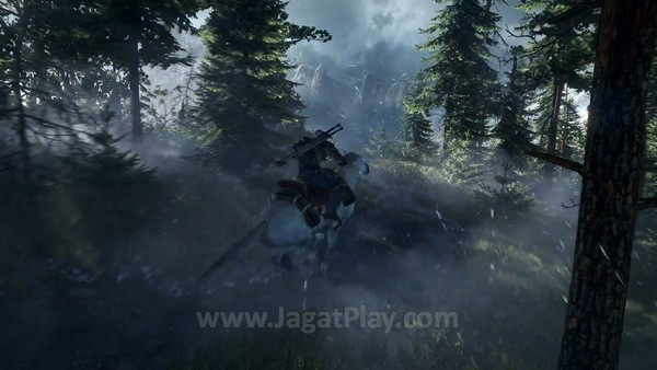 The Witcher 3 first gameplay trailer  (1)