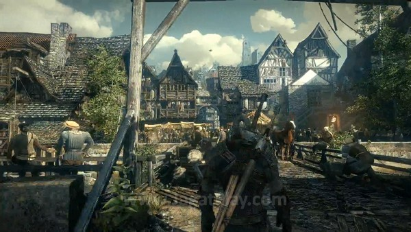 The Witcher 3 first gameplay trailer  (10)