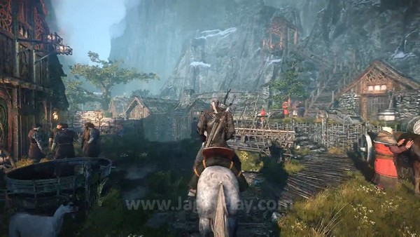 The Witcher 3 first gameplay trailer  (9)
