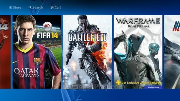 Browsing game-game yang compatible dengan Playstation 4 kini juga lebih mudah.