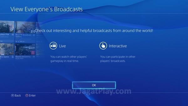 Namun tidak hanya berbagi video atau gambar, Anda bahkan bisa menciptakan siaran gaming Anda sendiri.