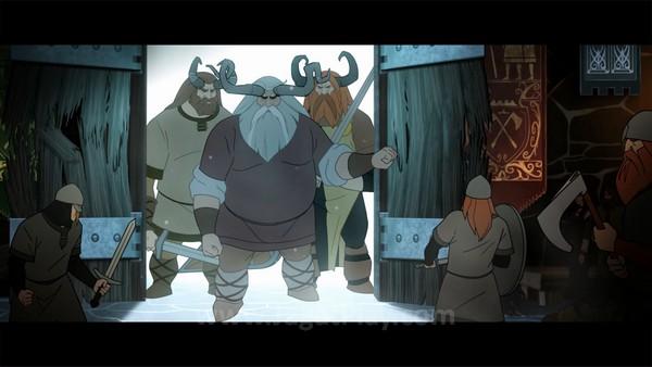 Atmosfer legenda Nordic yang kental, Anda hidup di dunia dimana ras raksasa bernama Varl dan manusia hidup damai.