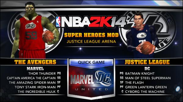nba-2k14-superheroes-mod-avengers-justice-league-marvel-dc