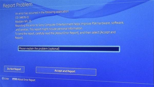 Kode error yang menimpa ratusan gamer ini kabarnya menghilangkan file save game yang tengah dimainkan oleh sang pemilik. Sony tengah menginvestigasi sumber masalah ini tanpa ada solusi sementara.