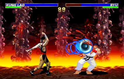 street fighter x mortal kombat