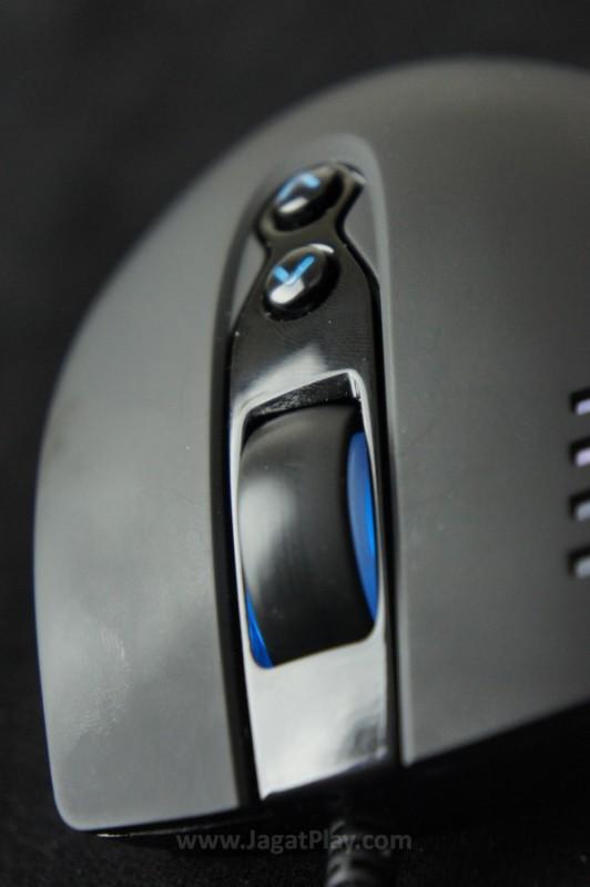 Omron Switch dan range sensivitas yang luas membaut Havoc mampu diadaptasikan untuk semua gaya bermain dan genre game.