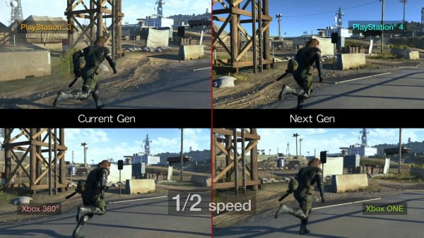 MGS V GZ video compare (2)