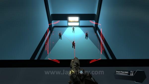 Smart pistol - sebuah konsep senjata unik yang mungkin tidak pernah terpikirkan, akan terlihat balance di sebuah mode multiplayer.