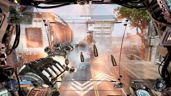 Para Titan juga punya mekanisme pertahanan tersendiri - seperti dinding magnet yang bisa melontarkan kembali peluru ini.