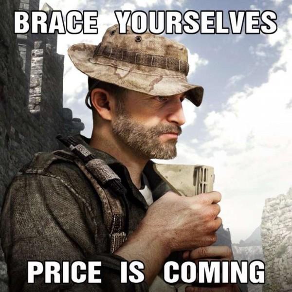 Captain Price akhirnya kembali! Sayang seribu sayang, hanya dalam bentuk DLC skin pack untuk COD: Ghosts.