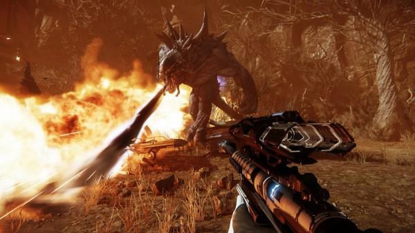 Evolve dari Turtle Rock Studios resmi dinobatkan sebagai game terbaik di ajang E3 2014 kemarin!