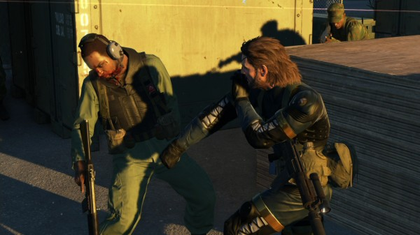 mgs v ground zeroes gameplay