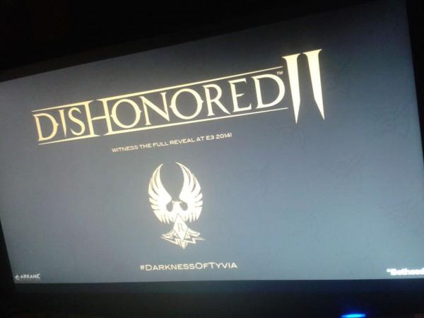 Foto inilah yang memunculkan rumor tentang kehadiran Dishonored II pada ajang E3 2014 mendatang.