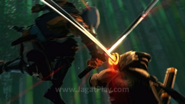 Berusaha menjajal kemampuannya, Yaiba berusaha menundukkan salah satu ninja terkuat - Ryu Hayabusa.