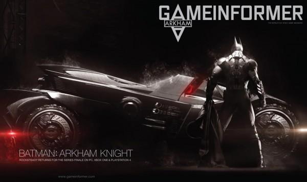 arkham knight gameinformer
