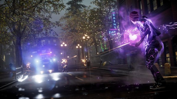 infamous second son lighting