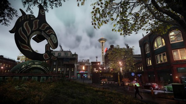 infamous second son lighting2