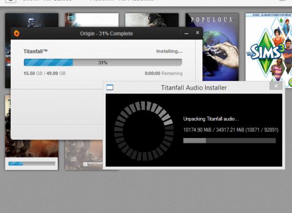35 GB hanya untuk file audio? Gila!