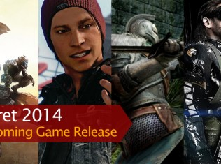 upcoming release game mar2014
