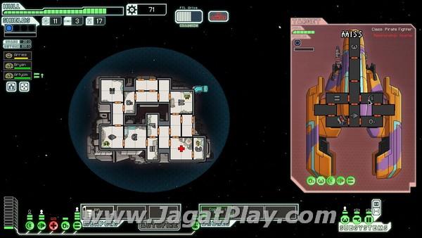 Interface utama dalam game ini.