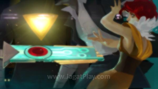 Berbeda dengan pedang biasanya, Transistor ternyata menyerap kesadaran setiap korban yang ia bunuh. Jiwa sang kekasih lah yang menemani Red dalam menjalani misi beratnya ini.