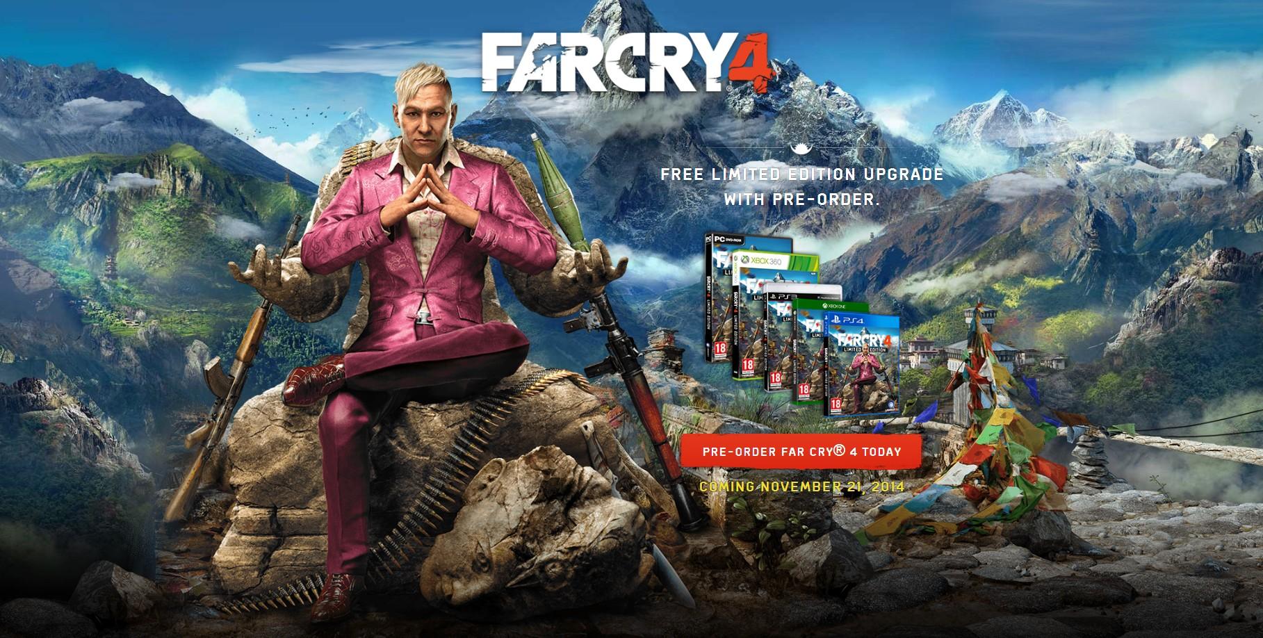 Akhirnya Ubisoft Umumkan Far Cry 4 Jagat Play