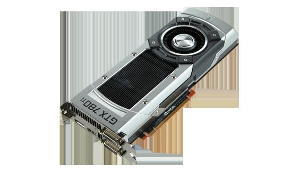 Kami bahkan harus menggunakan kartu grafis single GPU terkuat - GeForce GTX 780ti untuk memastikan setting kami rata kanan.