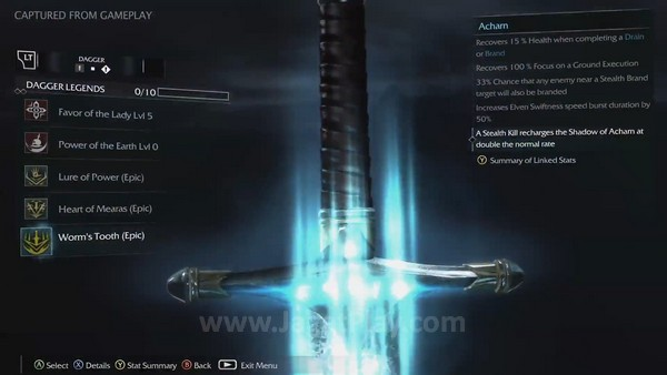 shadow of mordor weapons and runes (5)