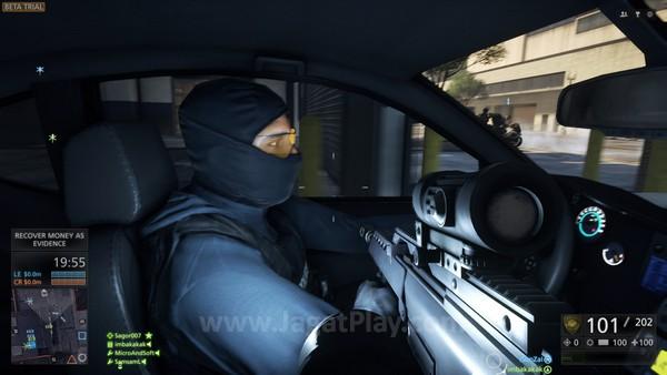 Untuk memfasilitasi pertempuran dalam kota ini, baik Cops maupun Criminal tentu saja diperkuat dengan serangkaian perangkat baru.