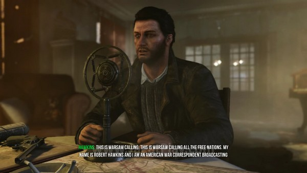 Anda berperan sebagai Hawkins - seorang wartawan asal Amerika Serikat yang memutuskan ikut berperang melawan Nazi bersama pasukan pemberontak.
