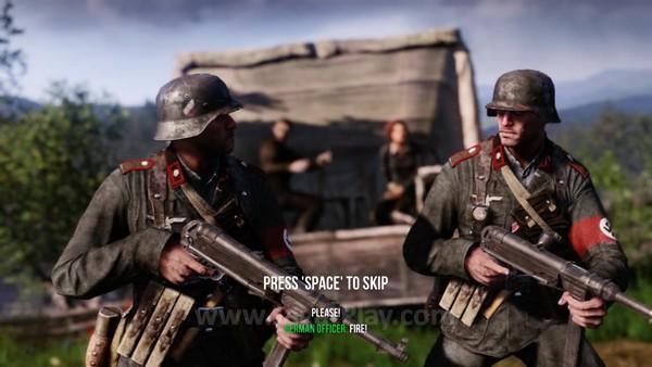 Perang melawan Nazi ini akan mengambil setting yang jarang dieksploitasi di industri game sebelumnya - Polandia dan Norwegia, misalnya.