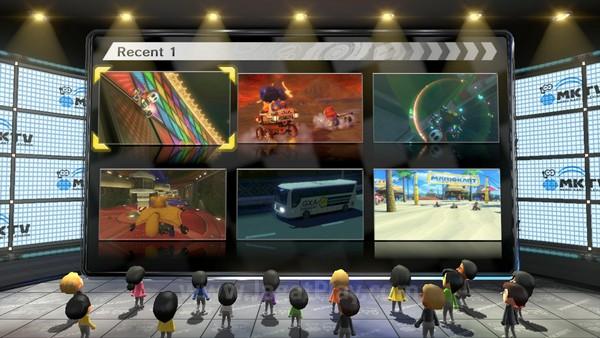 Lewat Mario Kart TV, Anda bisa melihat higlight balap yang tengah populer di seluruh dunia atau bakan highlight pribadi Anda selama beberapa balapan terakhir. Anda juga bisa langsung meng-uploadnya ke akun Youtube Anda.