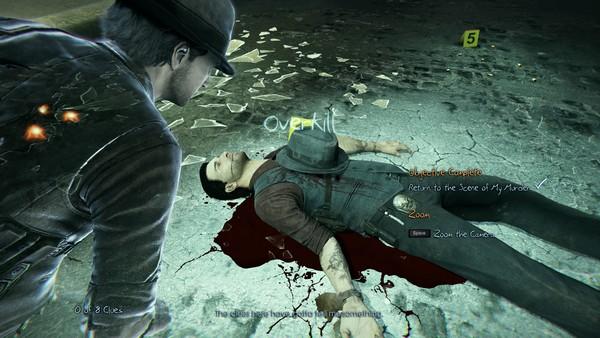 Inti permainan dari Murdered: Soul Suspect adalah investigasi. Mengambil sebanyak mungkin clue, menarik kesimpulan, dan mendekatkan langkah Anda lebih dekat ke Bell Killer itu sendiri.