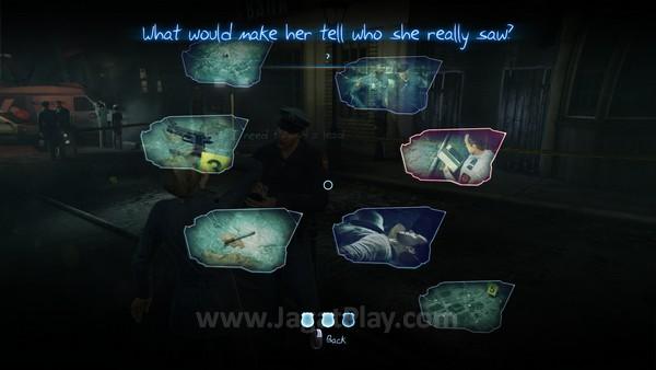Berhasil mencari clue yang dibutuhkan dan menghubungkan mereka biasanya akan menyelesaikan misi utama di game ini. Tidak sulit.