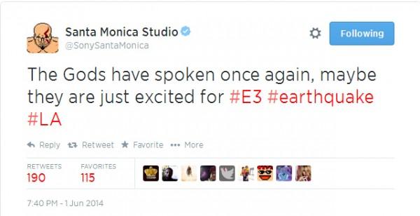 Sony Santa Monica melemparkan teaser terkait proyek terbaru mereka. God of War 4 di E3 2014? Semua indikasi mengarah ke sana.
