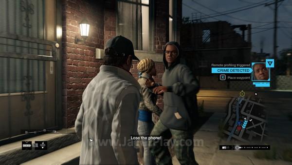 Ubisoft ingin memastikan Pearce mampu memanfaatkan informasi yang ia dapatkan dari Profiler di Watch Dogs 2. Gamer akan punya kesempatan mencuri uang dari politikus kaya dan menyalurkannya kepada orang tua tunggal yang tengah berkutat dengan kemiskinan.