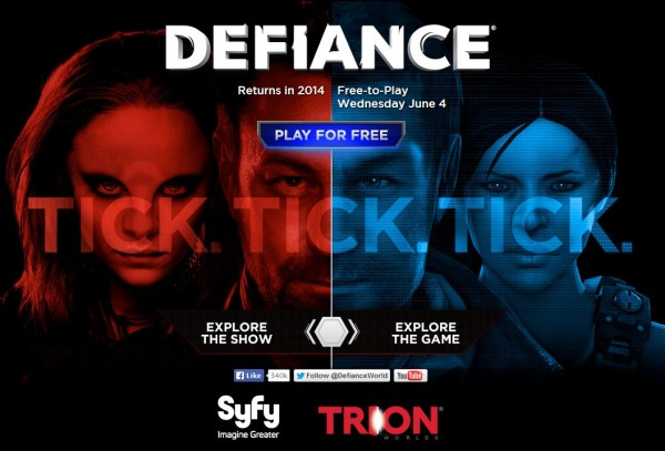 MMO Defiance secara resmi menjadi game free to play. Anda bisa mengunduhnya via situs resmi Defiance sendiri.