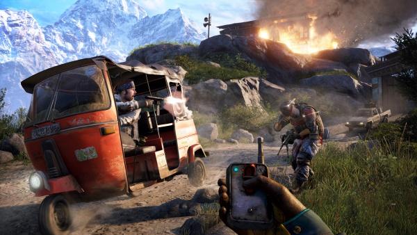 Alex Hutchinson dari Ubisoft menyatakan bahwa Far Cry 4 menjadikan PC sebagai platform utama pengembangan.