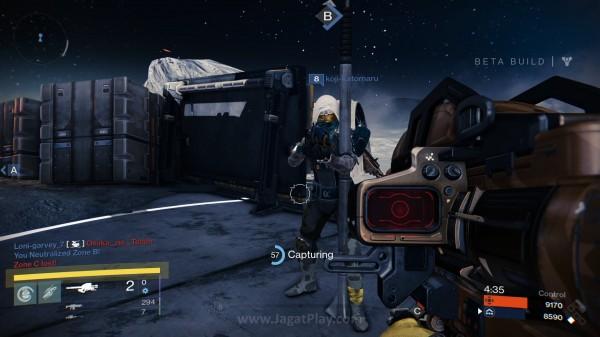 Gabungan antara Domination dan Team Deathmatch, mode Control ini menuntut Anda mengumpulkan koin dengan menguasai daerah tertentu.