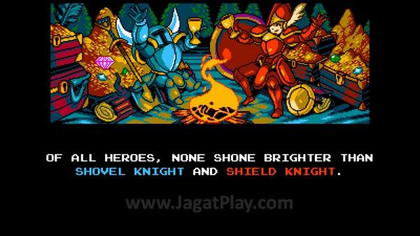 Menaklukkan dunia bersama Shield Knight, Shovel Knight justru harus berhadapan dengan mimpi terburuknya.