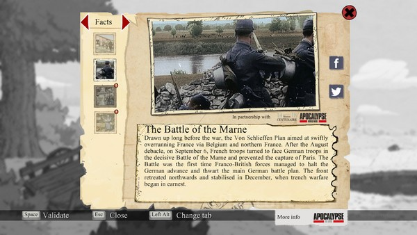 Beragam ekstra fakta sejarah yang informatif ditawarkan untuk menjelaskan latar belakang chapter yang tengah Anda jajaki.