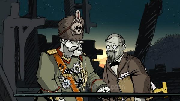 Seorang petinggi Jerman bernama menjadi salah satu pengait benang merah antara karakter-karakter tersebut.