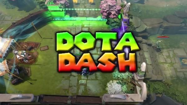 Sebuah mod baru mengubah gameplay DOTA 2 menjadi kart racing ala Mario Kart..