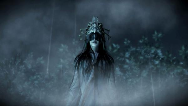 fatal frame the black haired shrine maiden7