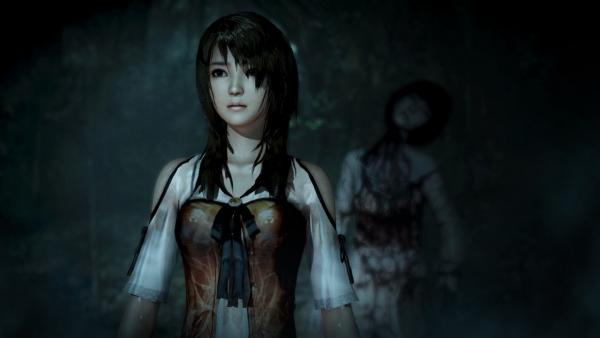 fatal frame the black haired shrine maiden9